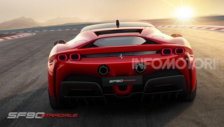 Ferrari SF90 Stradale: la prima ibrida di serie di Maranello - Foto 5 di 8