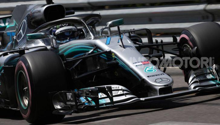 F1 2019 GP Monaco, prove libere: Mercedes in vetta con Hamilton davanti a Bottas, Vettel terzo - Foto 22 di 32