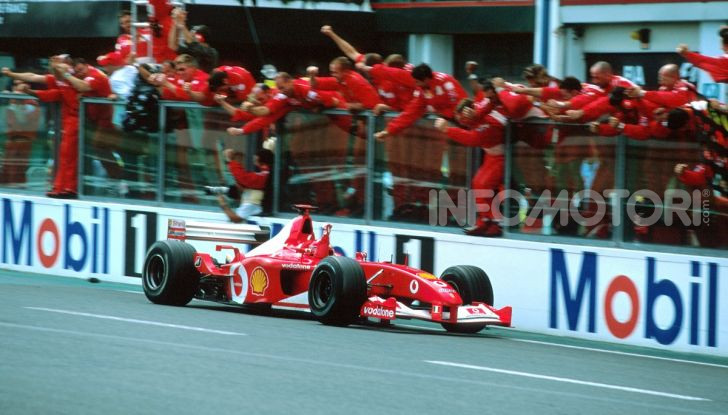 F1: ad Abu Dhabi sarà messa all'asta la Ferrari F2002 di Michael Schumacher - Foto 9 di 10