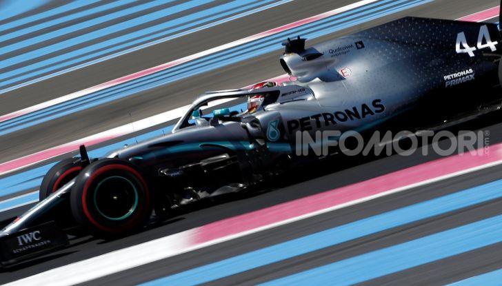 F1 2019 GP di Francia, Paul Ricard: Hamilton vola in qualifica con la Mercedes davanti a Bottas e Leclerc, Vettel solo settimo - Foto 3 di 14