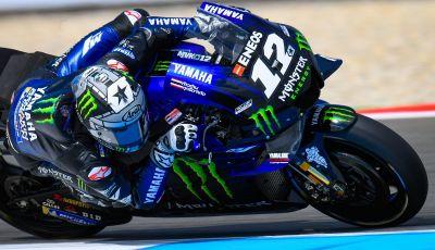 MotoGP 2019 GP d'Olanda, Assen: Vinales e la Yamaha al top nelle libere davanti a Quartararo e alle Ducati di Petrucci e Dovizioso, Rossi nono