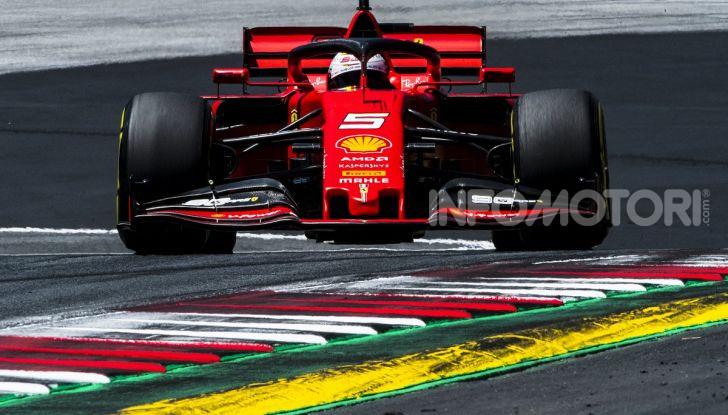 F1 2019 GP Austria, Red Bull Ring: Leclerc e la Ferrari al comando delle libere; Hamilton quarto, Vettel sfiora l'incidente - Foto 8 di 17