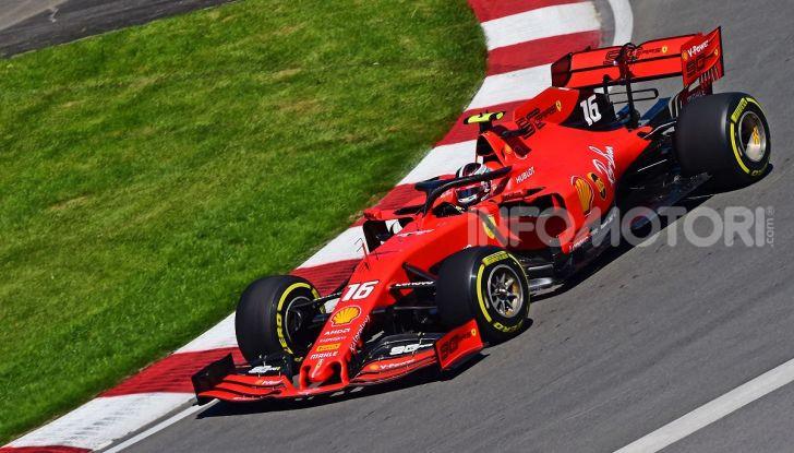 F1 2019 GP Canada, Montreal: la Ferrari risorge con Leclerc davanti a Vettel, Hamilton a muro - Foto 2 di 14