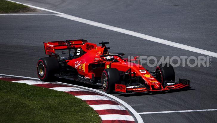 F1 2019 GP Canada, Montreal: la Ferrari risorge con Leclerc davanti a Vettel, Hamilton a muro - Foto 1 di 14