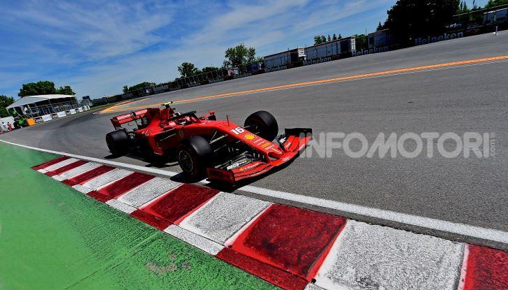 F1 2019 GP Canada, Montreal: la Ferrari risorge con Leclerc davanti a Vettel, Hamilton a muro - Foto 3 di 14