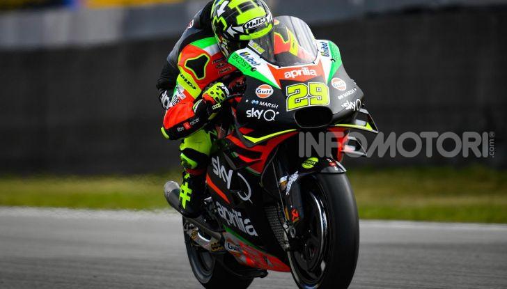 MotoGP 2019 GP d'Olanda, Assen: Vinales torna al successo con la Yamaha davanti a Marquez. Quarto Dovizioso, Rossi a terra - Foto 9 di 13