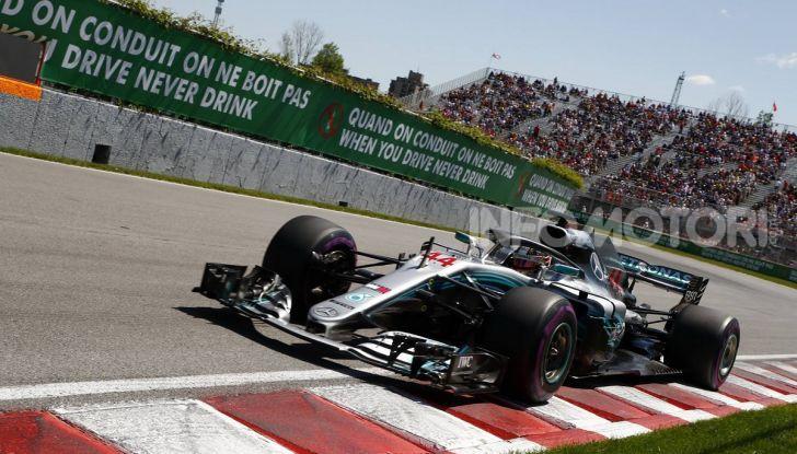F1 2019 GP Canada, Montreal: la Ferrari risorge con Leclerc davanti a Vettel, Hamilton a muro - Foto 9 di 14