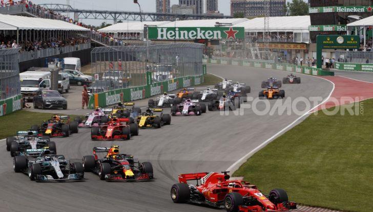 F1 2019 GP Canada, Montreal: la Ferrari risorge con Leclerc davanti a Vettel, Hamilton a muro - Foto 14 di 14