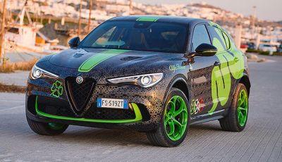 Alfa Romeo Stelvio Quadrifoglio alla Gumball 3000