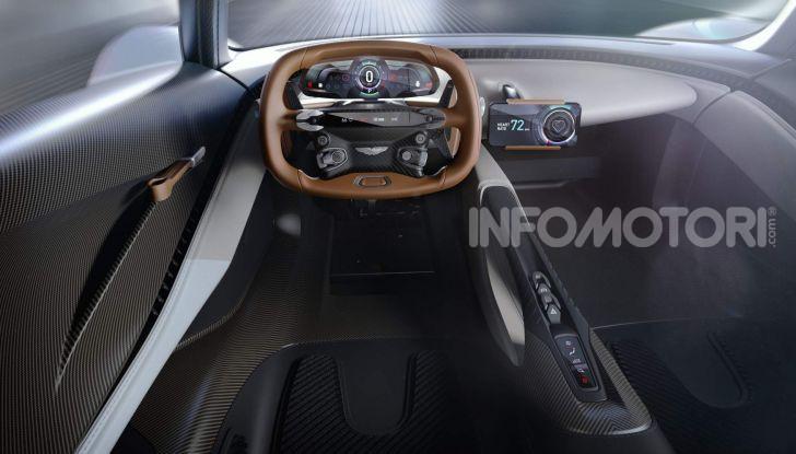 Aston Martin Valhalla, la hypercar del futuro - Foto 9 di 9
