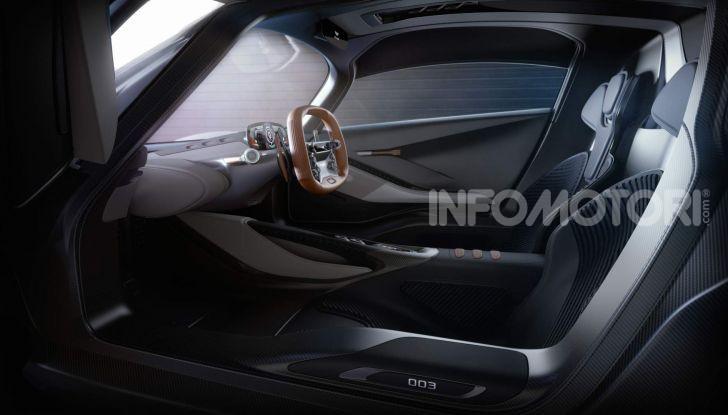 Aston Martin Valhalla, la hypercar del futuro - Foto 5 di 9