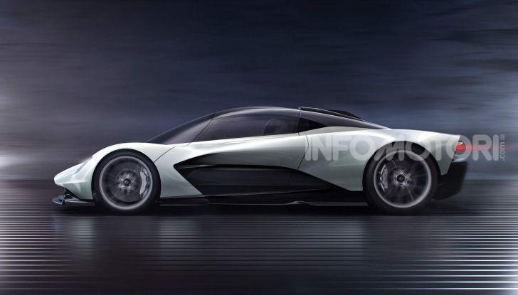 Aston Martin Valhalla, la hypercar del futuro - Foto 3 di 9