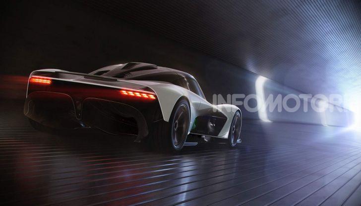Aston Martin Valhalla, la hypercar del futuro - Foto 7 di 9