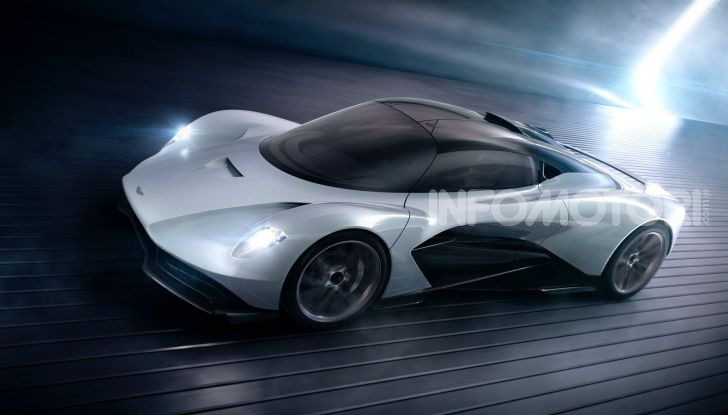 Aston Martin Valhalla, la hypercar del futuro - Foto 8 di 9