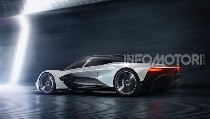 Aston Martin Valhalla, la hypercar del futuro - Foto 4 di 9