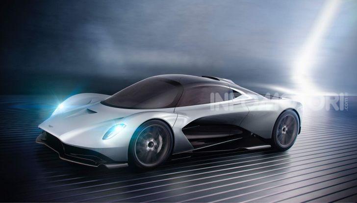 Aston Martin Valhalla, la hypercar del futuro - Foto 1 di 9