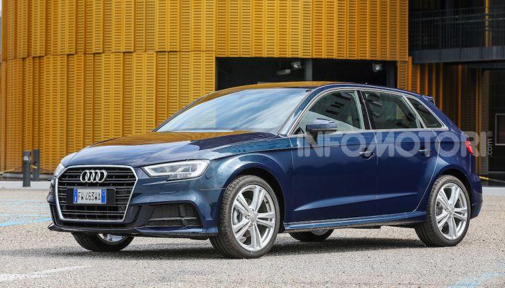 Prova nuova Audi A3 Sportback g-tron 2019: premium a metano! - Foto 10 di 22