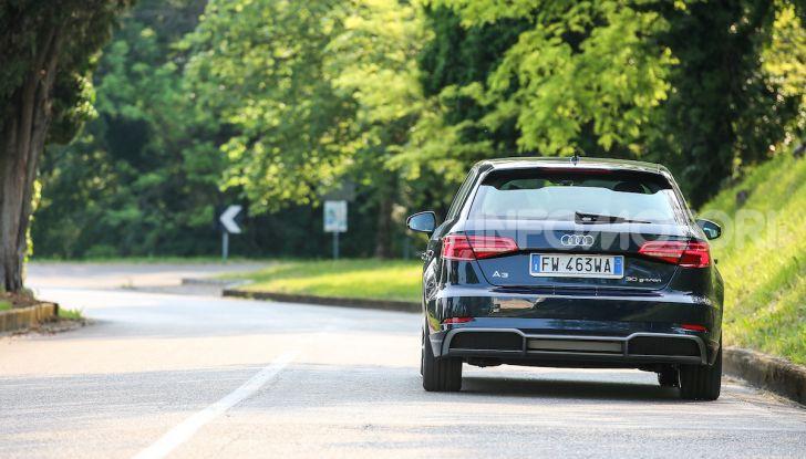 Prova nuova Audi A3 Sportback g-tron 2019: premium a metano! - Foto 5 di 22
