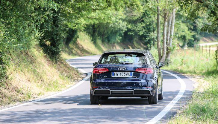 Prova nuova Audi A3 Sportback g-tron 2019: premium a metano! - Foto 9 di 22