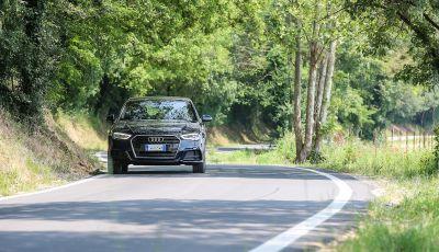 Prova nuova Audi A3 Sportback g-tron 2019: premium a metano!