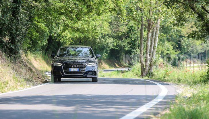 Prova nuova Audi A3 Sportback g-tron 2019: premium a metano! - Foto 2 di 22