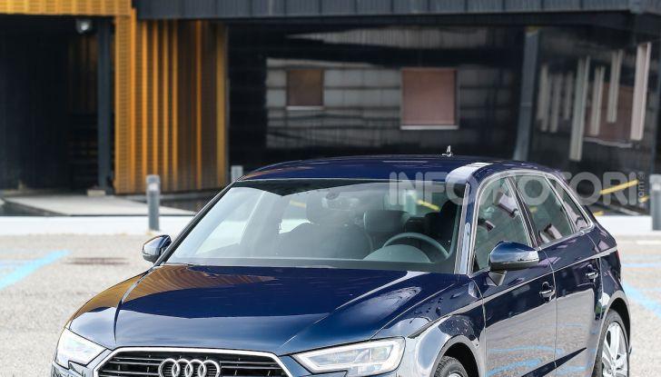 Prova nuova Audi A3 Sportback g-tron 2019: premium a metano! - Foto 12 di 22