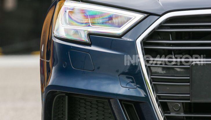 Prova nuova Audi A3 Sportback g-tron 2019: premium a metano! - Foto 13 di 22