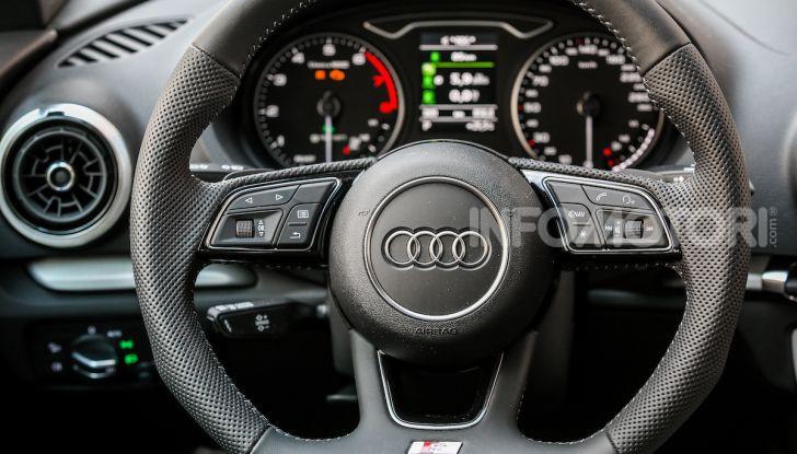Prova nuova Audi A3 Sportback g-tron 2019: premium a metano! - Foto 14 di 22