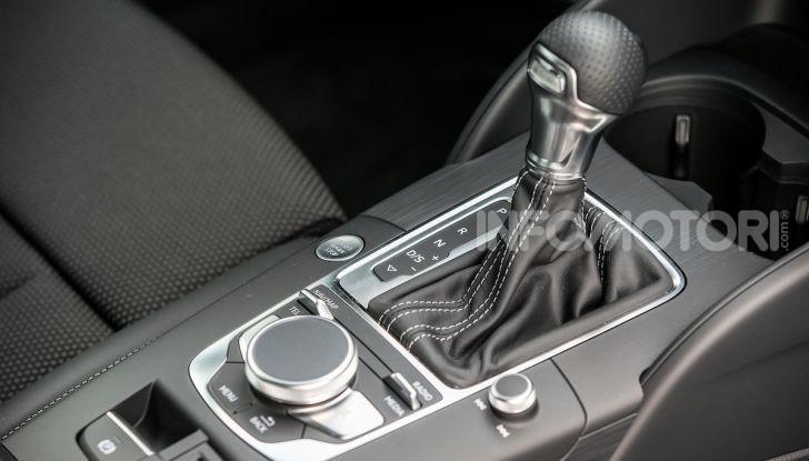 Prova nuova Audi A3 Sportback g-tron 2019: premium a metano! - Foto 15 di 22