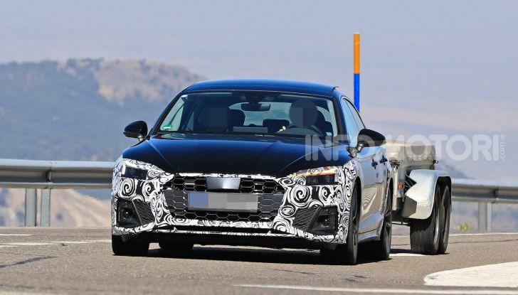 Audi A5 Sportback 2020, primi dati e immagini - Foto 2 di 18