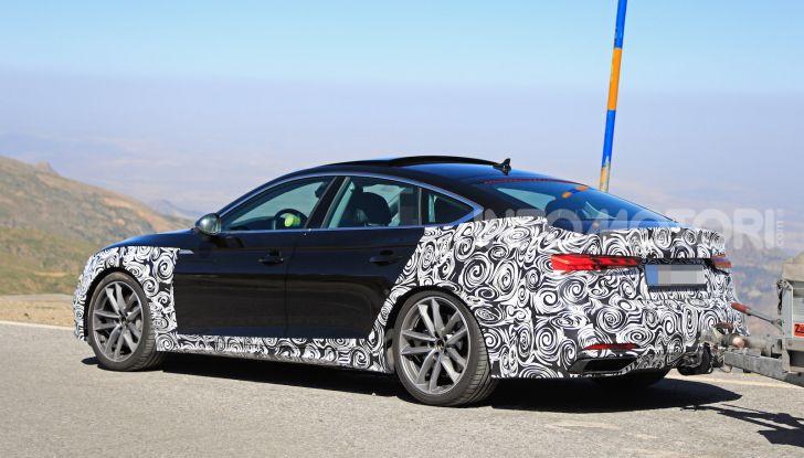 Audi A5 Sportback 2020, primi dati e immagini - Foto 14 di 18