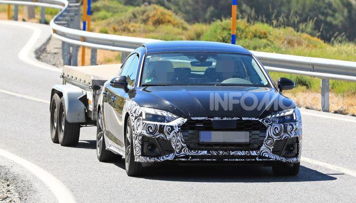 Audi A5 Sportback 2020, primi dati e immagini - Foto 10 di 18