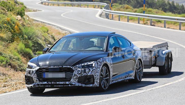 Audi A5 Sportback 2020, primi dati e immagini - Foto 15 di 18