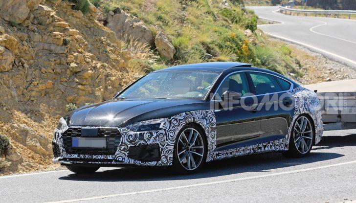 Audi A5 Sportback 2020, primi dati e immagini - Foto 5 di 18