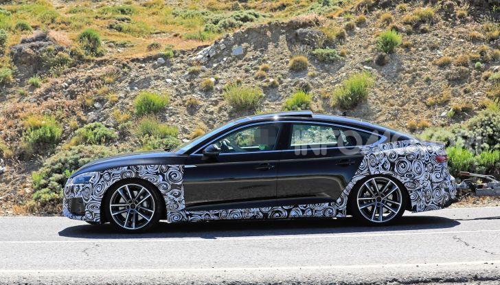 Audi A5 Sportback 2020, primi dati e immagini - Foto 3 di 18