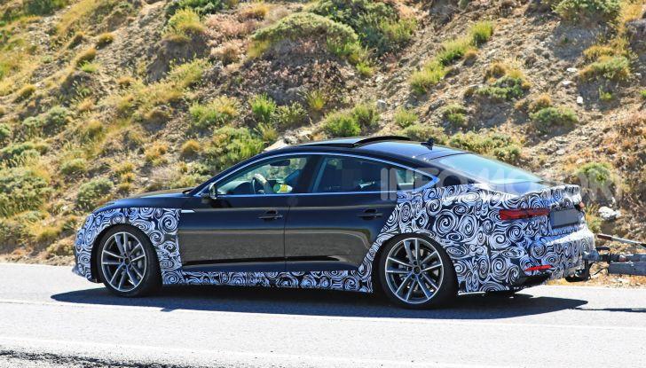 Audi A5 Sportback 2020, primi dati e immagini - Foto 7 di 18