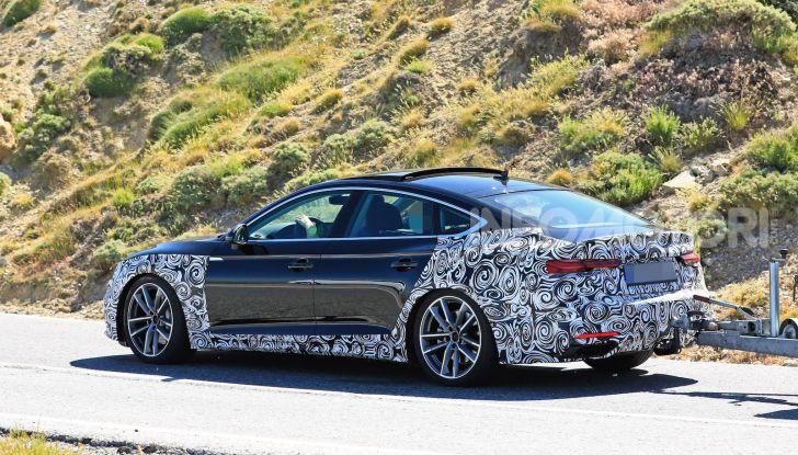 Audi A5 Sportback 2020, primi dati e immagini - Foto 16 di 18