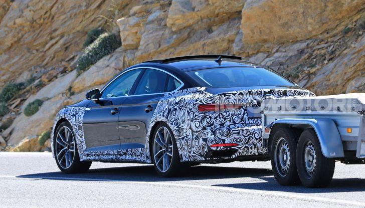 Audi A5 Sportback 2020, primi dati e immagini - Foto 17 di 18