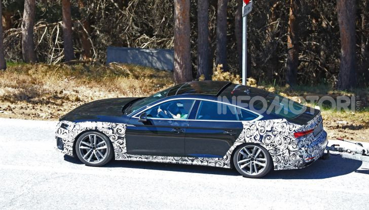 Audi A5 Sportback 2020, primi dati e immagini - Foto 18 di 18
