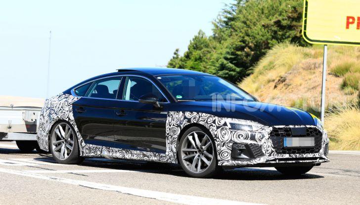 Audi A5 Sportback 2020, primi dati e immagini - Foto 1 di 18