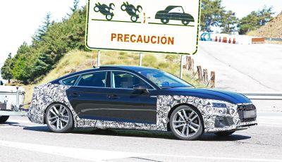 Audi A5 Sportback 2020, primi dati e immagini