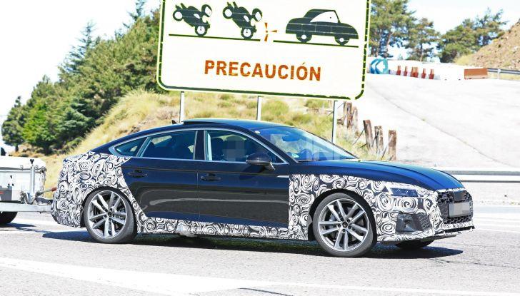 Audi A5 Sportback 2020, primi dati e immagini - Foto 9 di 18
