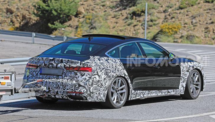 Audi A5 Sportback 2020, primi dati e immagini - Foto 12 di 18