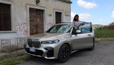 BMW X7 prova su strada del SUV ammiraglia da 94.900 euro