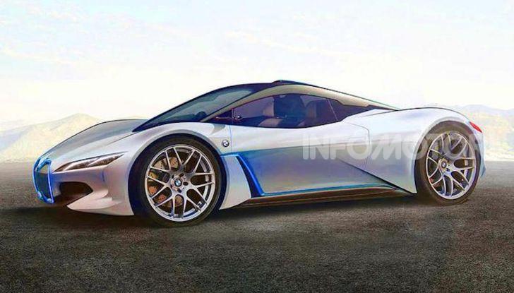 BMW i9: la nuova supercar 100% elettrica - Foto 4 di 4