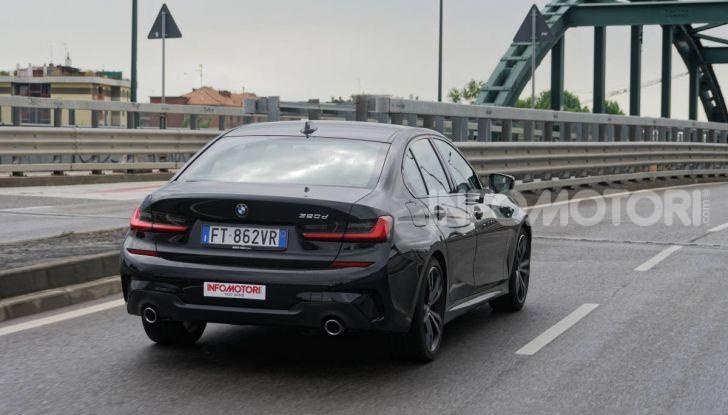 [VIDEO] Prova nuova BMW Serie 3 320d 2019: tutti i segreti della nuova G20 - Foto 9 di 54