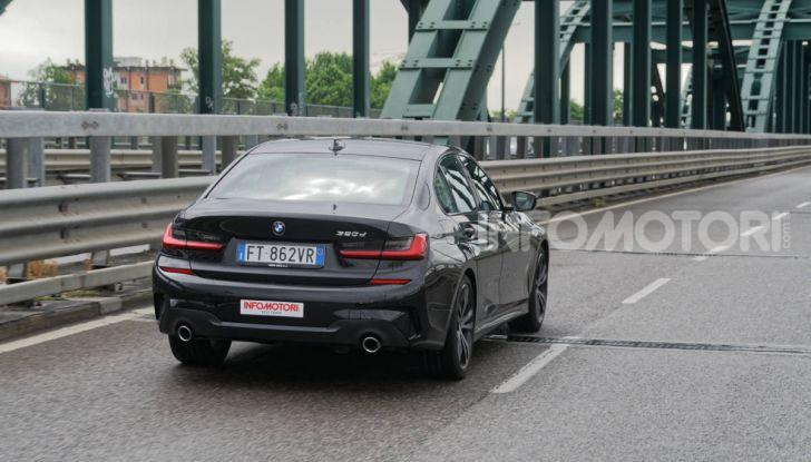[VIDEO] Prova nuova BMW Serie 3 320d 2019: tutti i segreti della nuova G20 - Foto 10 di 54