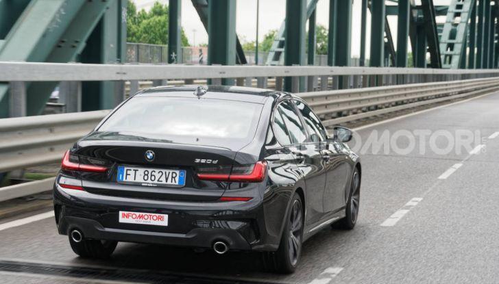 [VIDEO] Prova nuova BMW Serie 3 320d 2019: tutti i segreti della nuova G20 - Foto 11 di 54