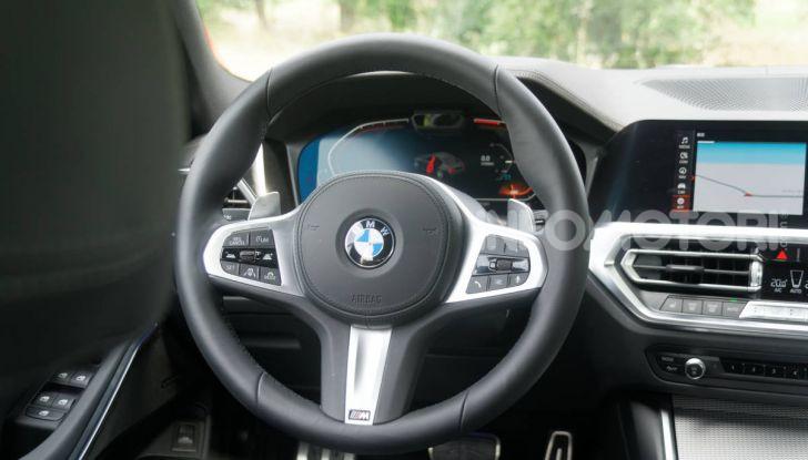 [VIDEO] Prova nuova BMW Serie 3 320d 2019: tutti i segreti della nuova G20 - Foto 48 di 54