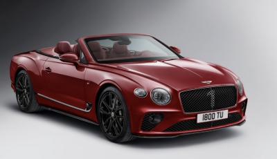 Bentley festeggia i suoi 100 anni con la Continental GT Number 1